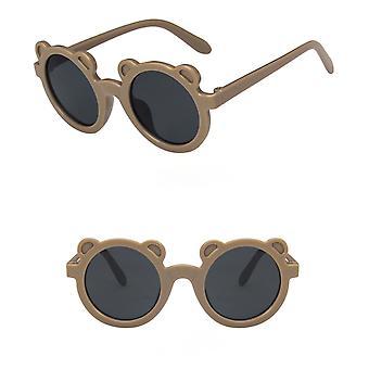 Baby zonnebril baby retro effen kleur gemak glazen