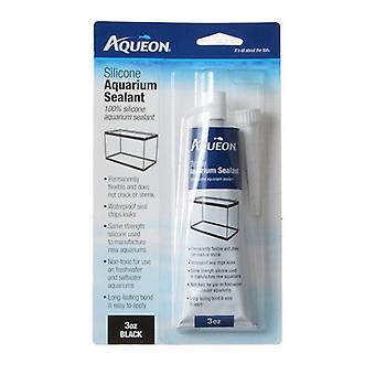 Aqueon Silicone Aquarium Sealant - Black - 3 oz