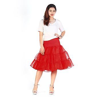 Vintage Length Swing Skirt Prom Slips Crinoline Bridal Petticoat Underskirt