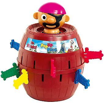 Tiger Baby Pirate Barrel Lucky Nail Game Educational Toy 24 Swords