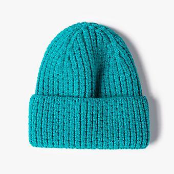 כובע ביני חורף תחושה סרוגה כובע חורף פליז בטנה כובע לעבות