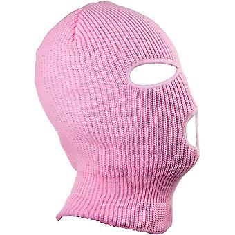 3 Loch Strick Skimaske Vollgesichtsschutz für Outdoor-Sport Warm Soft