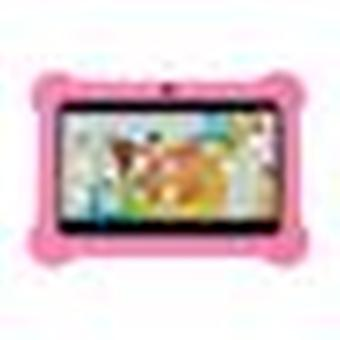 Educational Tablets For Children Wifi Dual Camera Quad-core 512mb + 8gb 7 Inch Compatible With Google And Android -pink