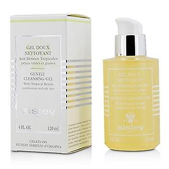 Sisley hellävarainen puhdistusgeeli trooppinen hartsit - yhdistelmä & rasvainen iho - 120ml / 4oz