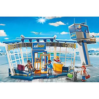 Playmobil 5338 City Action flygplats med Control Tower