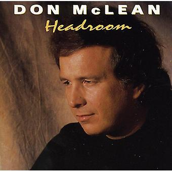 Don McLean - Headroom [CD] USA import