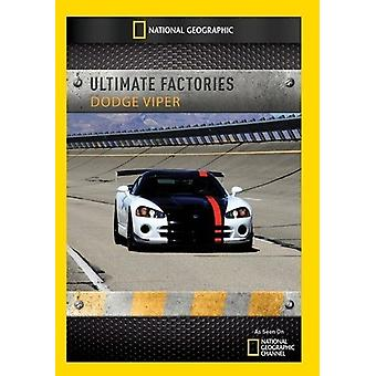 Ultimate Factories: Dodge Viper [DVD] USA import