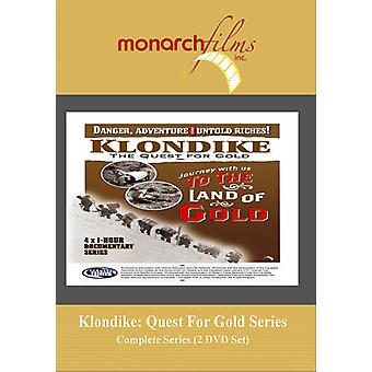 Klondike: Quest for Gold: Complete Series [DVD] USA import