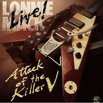 Lonnie Mack - Live-Attack av Killer V [CD] USA import