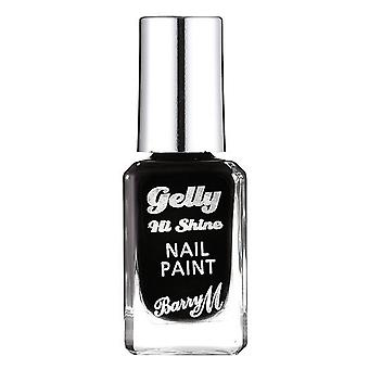 Barry M Gelly Hi Shine Nail Paint-Schwarzwald