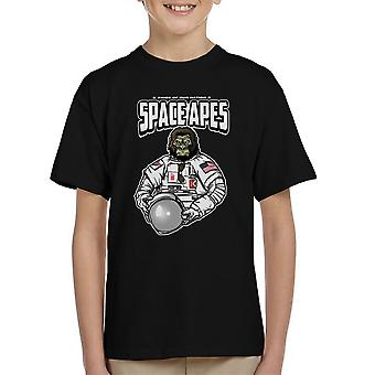 Ruimte Apes Kid's T-Shirt