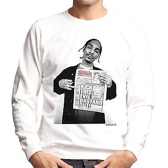 Snoop Dogg Daily Star Newspaper Men's Sweatshirt