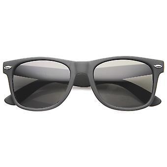 メンズ角縁サングラス UV400 保護複合レンズ付き