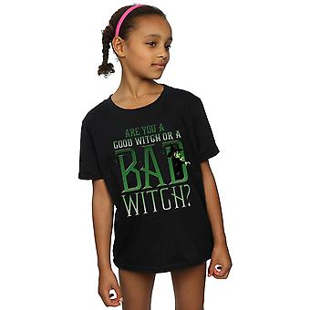 The Wizard Of Oz Girls Good Witch Bad Witch T-Shirt