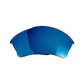 Replacement Lenses for Oakley Half Jacket XLJ Sunglasses Blue Anti-Scratch Anti-Glare UV400 by SeekOptics
