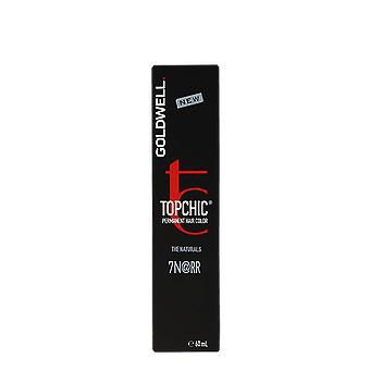 Goldwell Topchic The Naturals 7N@RR Mid Blonde Intense Red 60ml