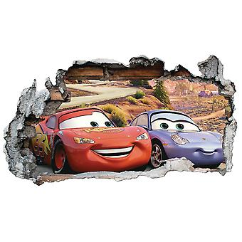 GNG Disney Cars Planes Smashed Wall Art Vinyl Decal Stickers Home Decor Boys Girls Children Bedroom