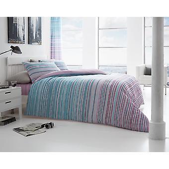 Andrea Stripes couette couette couverture polyester/coton imprimé literie ensemble toutes les tailles