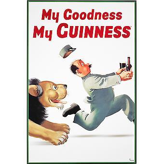 Guinness Lion Poster Poster Print