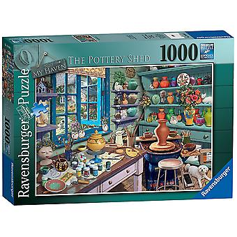 Ravensburger My Haven No 3. The Pottery Shed 1000pc Jigsaw