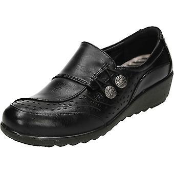 Cushion-Walk Cushioned Flexible Comfort Slip On Shoes