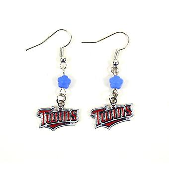 Minnesota Twins MLB Sophie Style Dangle Earrings