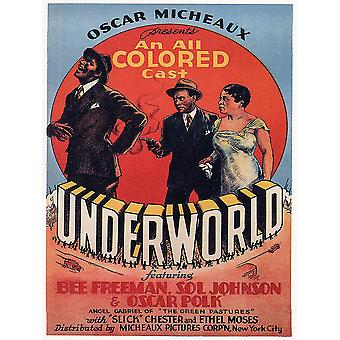 Underworld Movie Poster Oscar Micheaux (1937)