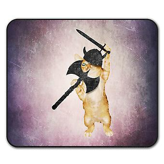 North Animal Funny Cat  Non-Slip Mouse Mat Pad 24cm x 20cm | Wellcoda