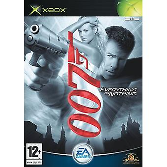 James Bond 007 Everything or Nothing (Xbox) - New