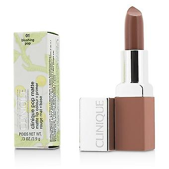 Clinique Pop Matte Lip Colour + Primer - # 01 Blushing Pop - 3.9g/0.13oz