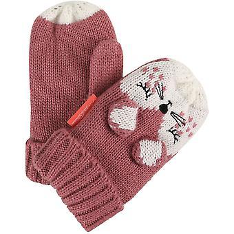 Régate garçons & filles Animally II acrylique personnage tricot mitaines gants