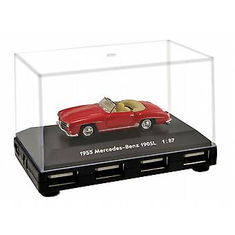 Official Mercedes Benz 190SL Car 4-Port USB Computer Hub - Red
