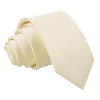 Cravatta in raso di champagne pianura regolare per i ragazzi