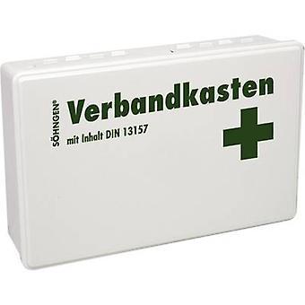 S-hngen 3003046 Kit de primeros auxilios DIN 13 157 260 x 160 x 80 Blanco