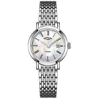Rotary Womens Stainless Steel Bracelet LB05300/39 Watch