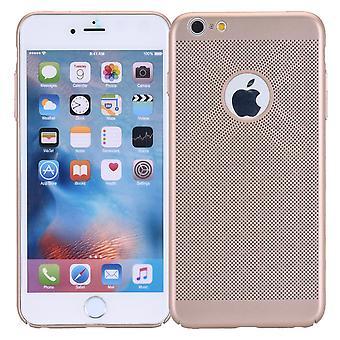 Handy Hülle für Apple iPhone 7 Schutzhülle Case Tasche Cover Etui Gold