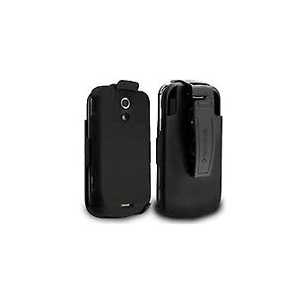 Technocel Snap-On Case Holster Belt Clip Shield Combo voor Samsung Epic4G - zwart