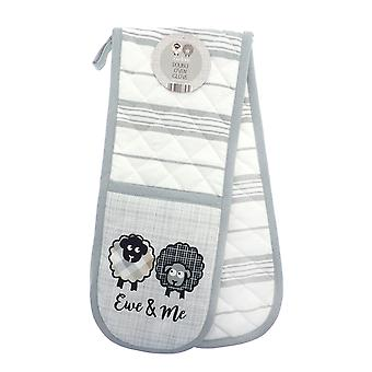 Country Club Ewe and Me Double Oven Glove