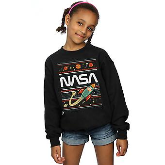 La NASA filles Fair Isle Sweatshirt