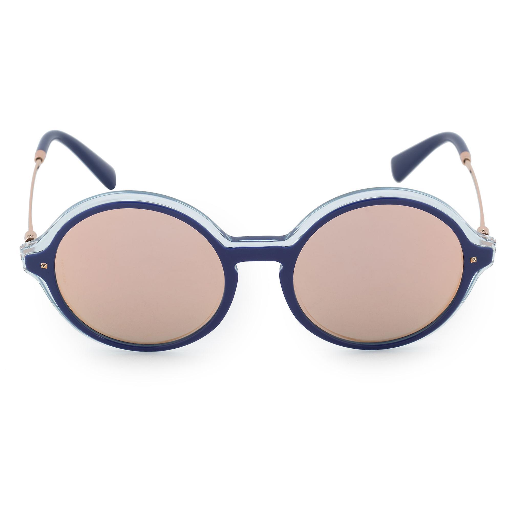 Valentino Round Sunglasses VA4015 50454Z 53