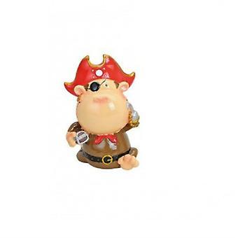 Dinero caja pirata mono