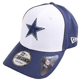 עידן חדש 9FORTY NFL בוקרים דאלאס כובע-חיל הים/לבן