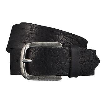 Jeans ceintures de hommes ceintures en cuir TOM TAILOR ceinture ceinture noire 4348