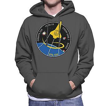 La NASA STS navette 120 Imagery Mission Patch hommes de Hooded Sweatshirt