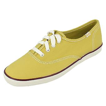 Ladies Keds Lace Up Casual Shoes CH OX