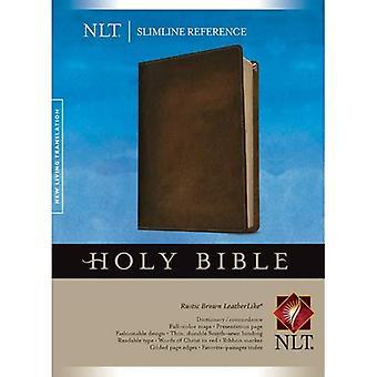 Bíblia de referência Slimline NLT