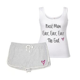 Melhor mãe, nunca, nunca o conjunto de pijama final