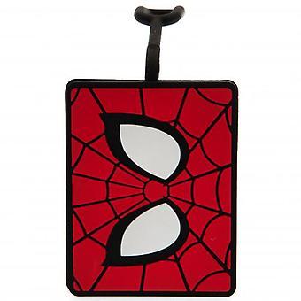 Spider-Man bagagelabel.