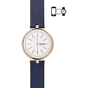 Montre analogique Skagen Ladies Quartz avec bracelet en cuir SKT1412
