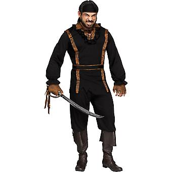 Dark Pirate Adult Costume